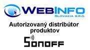 Distribútor sonoff zariadení pre Slovensko